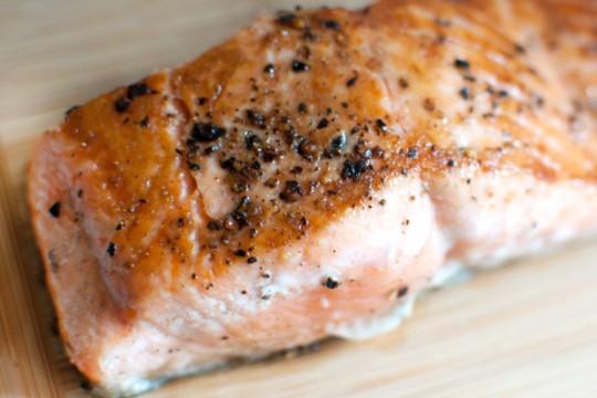 Aquaculture salmon confidential exposed for Temperature to bake fish